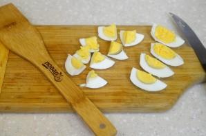 Салат с тунцом и стручковой фасолью - фото шаг 3