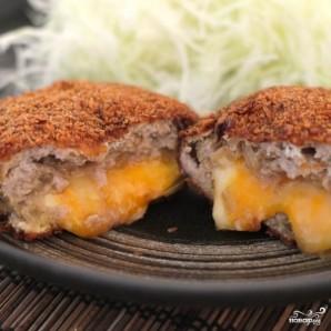 Японские котлеты с сыром - фото шаг 12