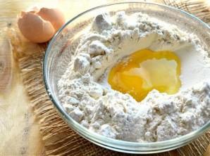 Тесто на молоке без дрожжей - фото шаг 2