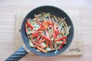 Салат из языка с баклажанами - фото шаг 7