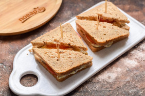 Индийские бутерброды