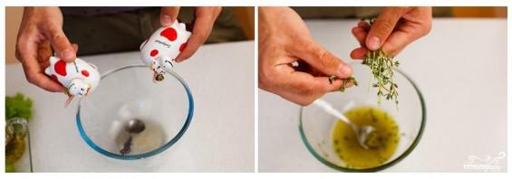 Салат из сулугуни и винограда - фото шаг 2