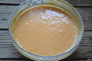 Оладьи из тыквы в духовке - фото шаг 8