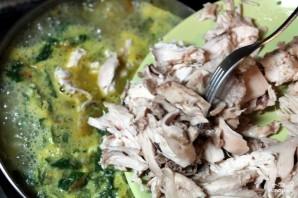 Суп из крапивы с мясом - фото шаг 11