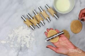 Трубочки с шоколадом и рикоттой - фото шаг 4