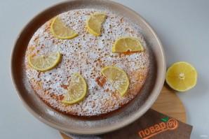 Лимонный пирог в духовке - фото шаг 11
