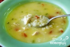 Куриный суп с рисом - фото шаг 18