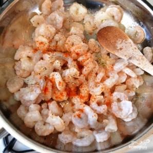 Салат с рисом и креветками - фото шаг 5