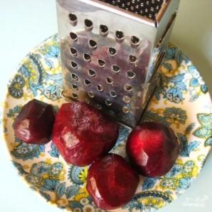Салат из свеклы с сыром - фото шаг 4