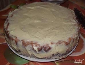 Бисквитный торт на скорую руку - фото шаг 10