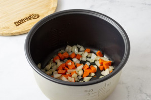 Суп пюре из тыквы в мультиварке - фото шаг 2