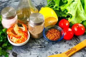 Легкий салат с креветками - фото шаг 1