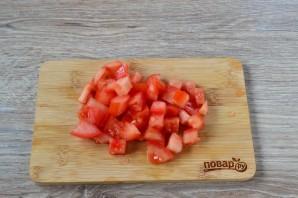 Блины с помидорами - фото шаг 4