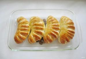 Сдобные булки с абрикосами - фото шаг 11