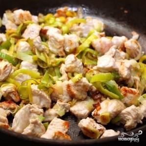 Коричневый рис с индейкой и овощами - фото шаг 2