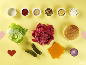 Соус для гамбургера - фото шаг 1