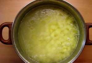 Суп картофельный с курицей - фото шаг 2