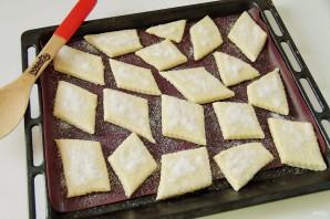 Слоеное печенье на сметане - фото шаг 7