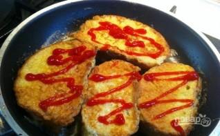 Жареные горячие бутерброды в льезоне - фото шаг 4