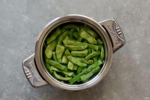 Фасоль с имбирем и чесноком - фото шаг 3
