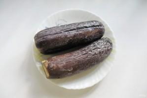 Соленые баклажаны, как грибы - фото шаг 2