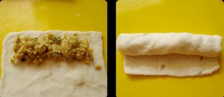 Закусочные рулеты - фото шаг 2