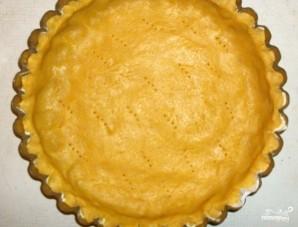 Песочный пирог с заварным кремом и вишней - фото шаг 5