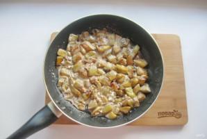 Баклажаны в сливочном соусе - фото шаг 9