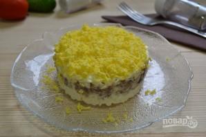 Салат с сардиной и сыром - фото шаг 12