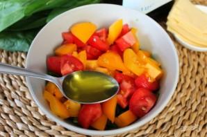 Салат из помидоров со шпинатом - фото шаг 5