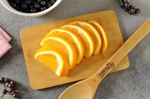 Компот из черноплодной рябины с апельсином - фото шаг 3