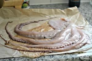Тушеный осьминог - фото шаг 1