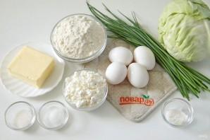 Пирог с капустой и яйцом - фото шаг 1