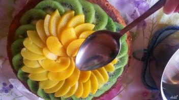 Бисквитно-кремовый торт - фото шаг 10