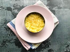Салат с курицей, сыром и яблоком - фото шаг 4