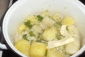 Пирожки с картофелем и салом - фото шаг 1