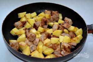 Картофель с мясом и брокколи - фото шаг 6