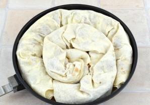 Мясной пирог из лаваша - фото шаг 9