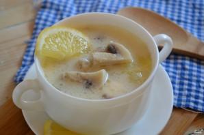 Грибной суп с плавленым сыром - фото шаг 8