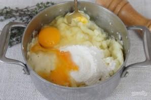 Картофельный пирог с капустой - фото шаг 4