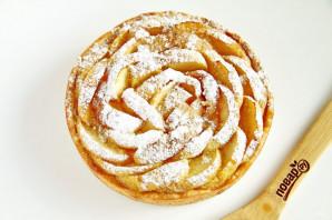 Песочный пирог с яблоками от Юлии Высоцкой - фото шаг 11