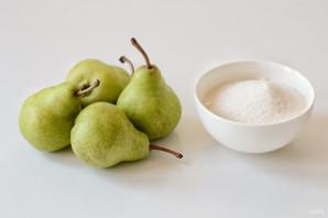 Янтарное варенье из груш