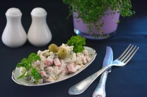 Салат обалденный с курицей - фото шаг 6