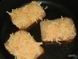 Горячие овощные бутерброды - фото шаг 4