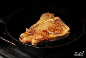 Стейк на кости в духовке - фото шаг 4