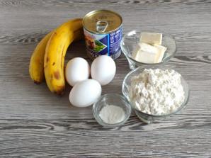 Банановое печенье со сгущенкой - фото шаг 1