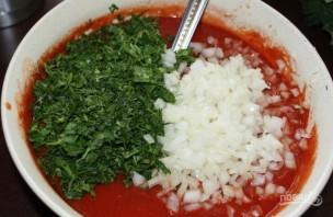 Соус из томатной пасты к шашлыку - фото шаг 5