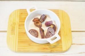 Салат с луком и голубым сыром - фото шаг 2