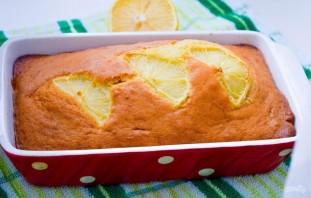 Лимонный кекс простой - фото шаг 7