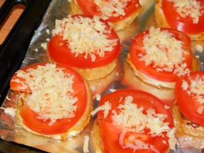 Горячие гренки-бутерброды - фото шаг 4